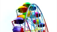 Ferris Wheel of bright color video