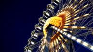 Ferris wheel, Realtime, Hd video