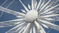 Ferris wheel rotation video