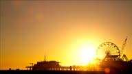 Ferris Wheel Sunset video