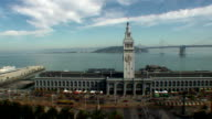 Ferry Building & Bay Bridge - San Francisco, California video