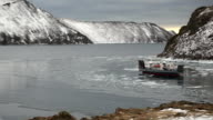 Ferry go lake Baikal video
