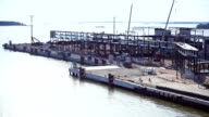 Ferry terminal under construction video