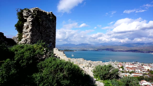 Fethiye view of the castle. video