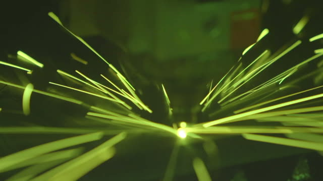 Fiber laser cutting machine video