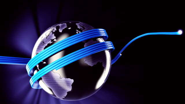 Fiber optic world video