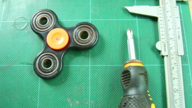 Fidget Spinner video