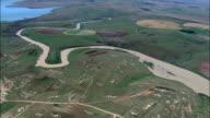 Field Patterns  - Aerial View - KwaZulu-Natal,  uThukela District Municipality,  Okhahlamba,  South Africa video