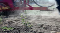 Field plowing video