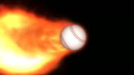 Fiery Baseball video