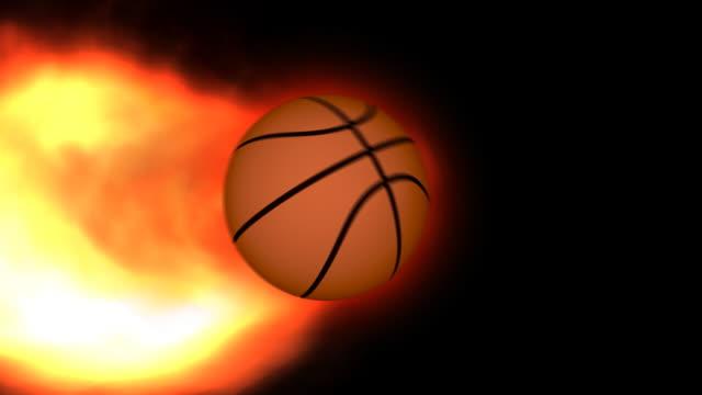 Fiery Basketball video