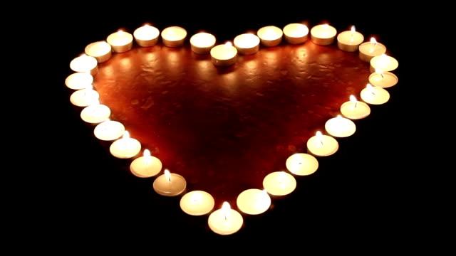 Fiery heart video