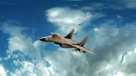 Fighter Jet Animation video