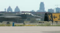 F16 Fighter Taxiing 01 video
