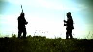 Fighting knights video
