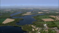 Filby, Rollesby And Ormesby Broads  - Aerial View - England, Norfolk, Great Yarmouth District, United Kingdom video