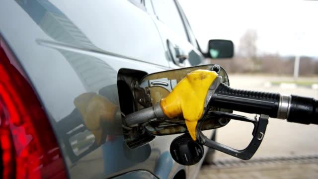 Filling fuel into a car video