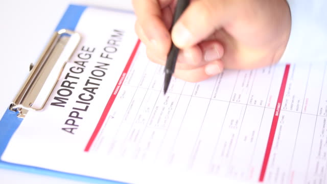 Filling Mortgage Document video