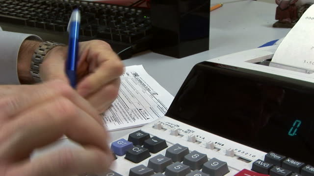 Filling out the tax form video