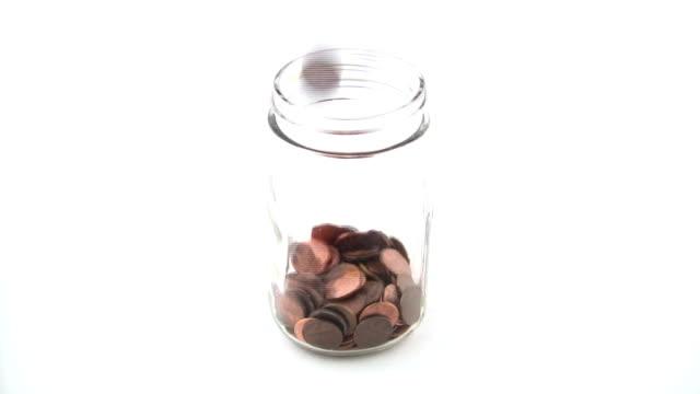HD: Filling the Penny Jar video