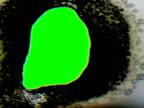 Film Burn with Chroma Key. NTSC, PAL video