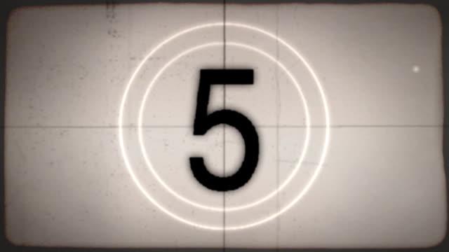 Film Leader Countdown video