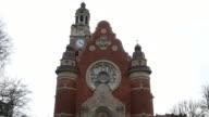 Film Tilt Johannes Church at Triangeln Station in Malmo Sweden video