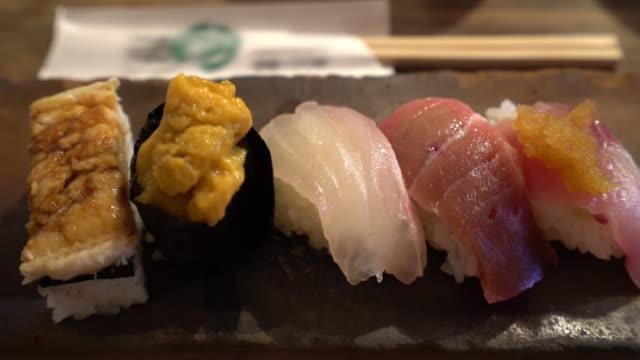 Film Tilt of Sushi video