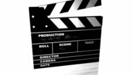 filmslate with alpha video