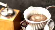 Filter Pour Over Coffee video