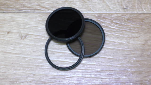 CIR-PL, ND, UV Filters For Camera Lens video