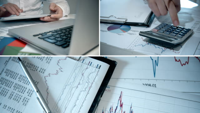 Finance Collage video
