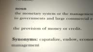 Finance Definition video