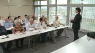 HD: Financial Advisor Explaining Investment Plans video