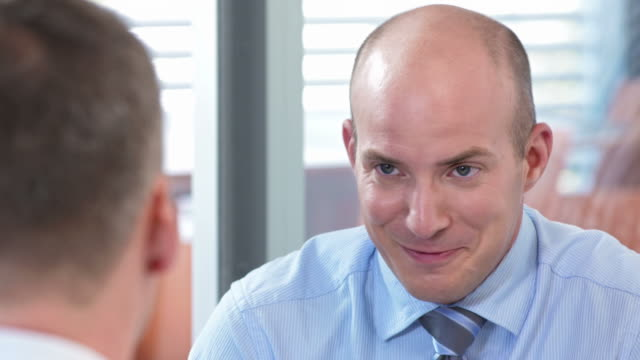 HD: Financial Advisor Talking With His Client video