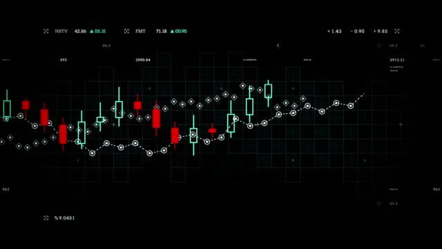 Financial Data Tracking Black video