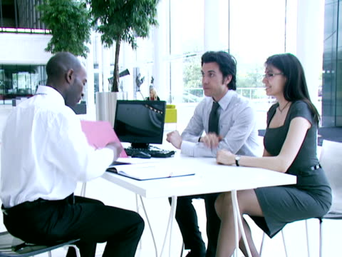 Financial meeting video
