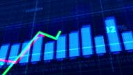 Financial stock dat video