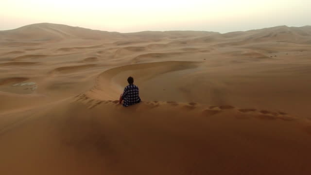 Finding peace in the quiet of the desert video