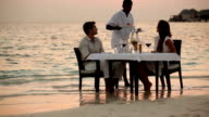 Fine dining at the water's edge video
