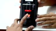 Fingerprint scaning video