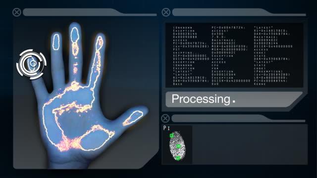 Fingerprint Scanner/Identity Accepted video