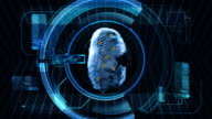 Fingerprint Security Scan Technology video