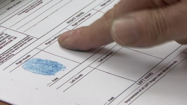 Fingerprints form video