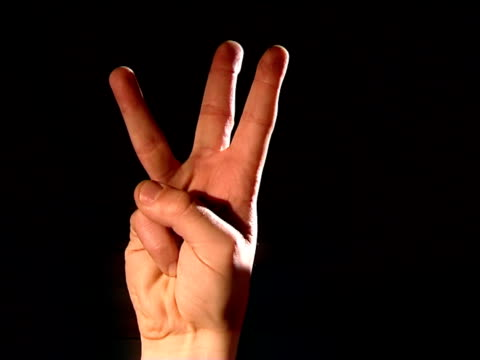 3,2,1, fingers countdown video