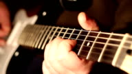 Fingers Play on Electric Guitar video