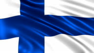 Finland charming flag video
