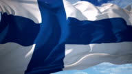 Finland flag video
