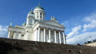 Finland Helsinki church time lapse video