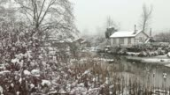 Finn Slough, Winter Snow, Richmond video